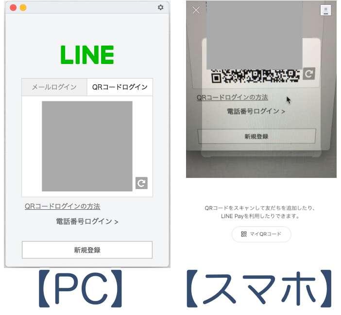 PC line QRコード