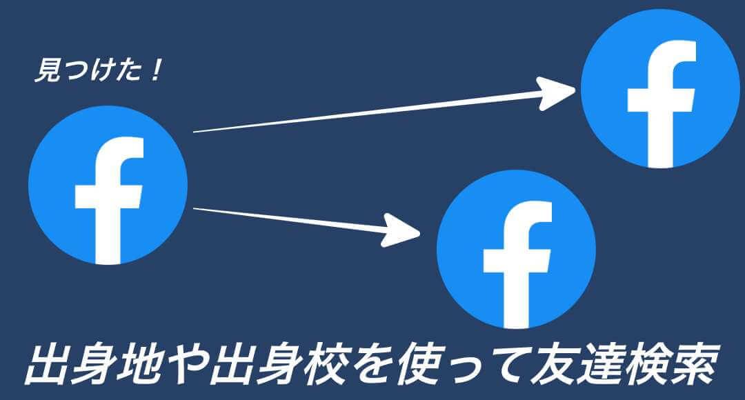 Facebook】出身地や出身校を使って友達検索する簡単な方法 ...