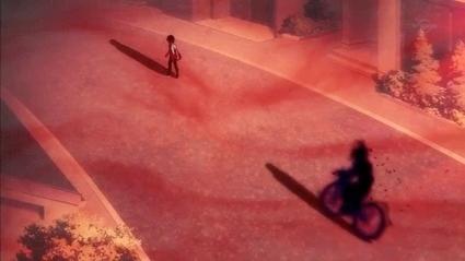 死者の乗る自転車